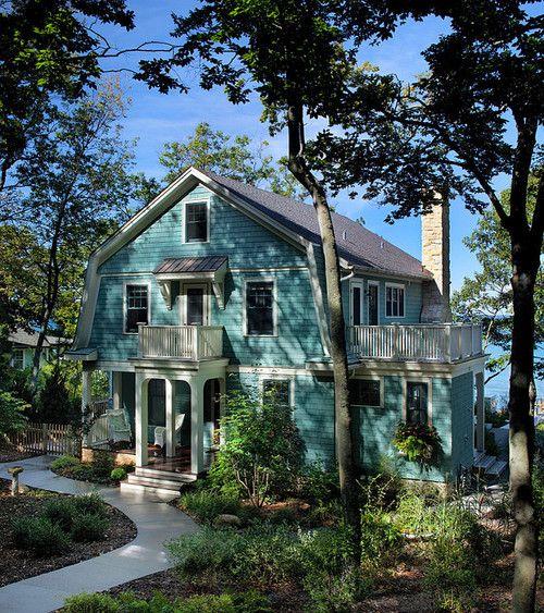 Michigan lake cottage. J. Visser Design.