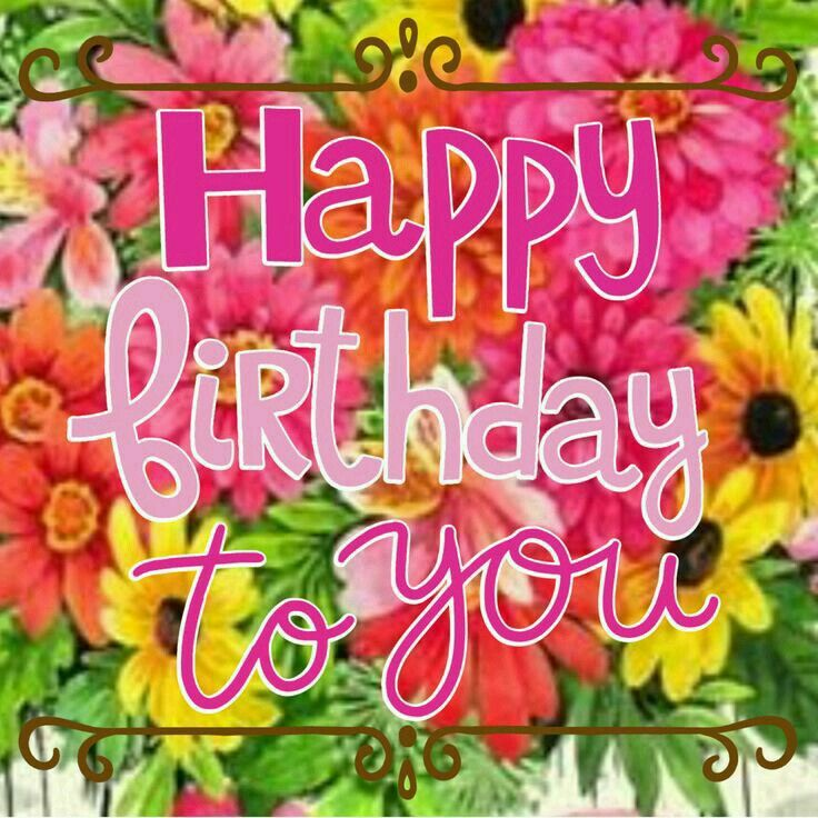 881 Best Happy Birthday Images On Pinterest Happy Birth Happy Birthday Wishes For Wall