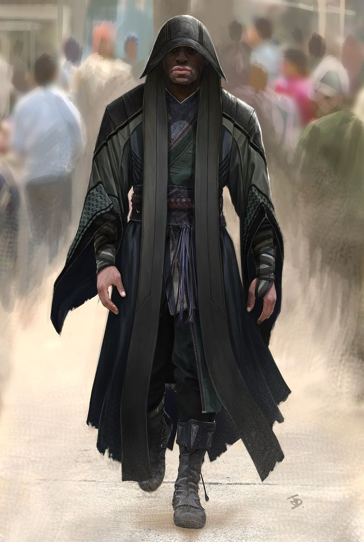 "Concept art of Karl Mordo from Marvel's ""Doctor Strange"" (2016)."