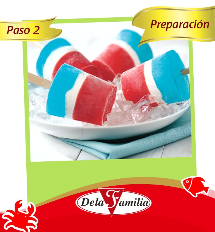 Combina el polvo seco de la Gelatina sabor Tutti Frutti y 1/2 taza de azúcar en un tazón mediano y viértele 1 taza de agua hirviendo; revuelve la Gelatina 2 min. hasta que se termine de disolver. Agrega cubitos de hielo a 1 taza de agua fría hasta que mida 2 tazas. Agrega esto a la Gelatina de Tutti Frutti ; revuelve el hielo hasta que se derrita. Vierte esto en 16 vasos de papel o de plástico (5 oz), con aproximadamente 1/4 de taza de Gelatina en cada uno. Congélalos 1 hora.