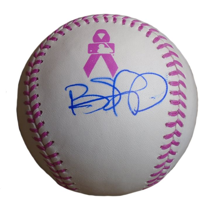 Cleveland Indians Brandon Phillips signed Rawlings ROMLB pink breast cancer awareness game baseball w/ proof photo.  Proof photo of Brandon signing will be included with your purchase along with a COA issued from Southwestconnection-Memorabilia, guaranteeing the item to pass authentication services from PSA/DNA or JSA. Free USPS shipping. www.AutographedwithProof.com is your one stop for autographed collectibles from the Indians. Check back with us often, as we are always obtaining new…