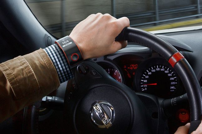 With wearable technology all the rage, Nissan's NISMO labs developed the first smart watch prototype that connects the driver directly to their car.