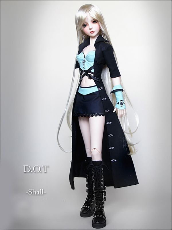 Fashion BJD Dolls Girls Shoes Leather Boots for 1//3 Ball Jointed Dolls