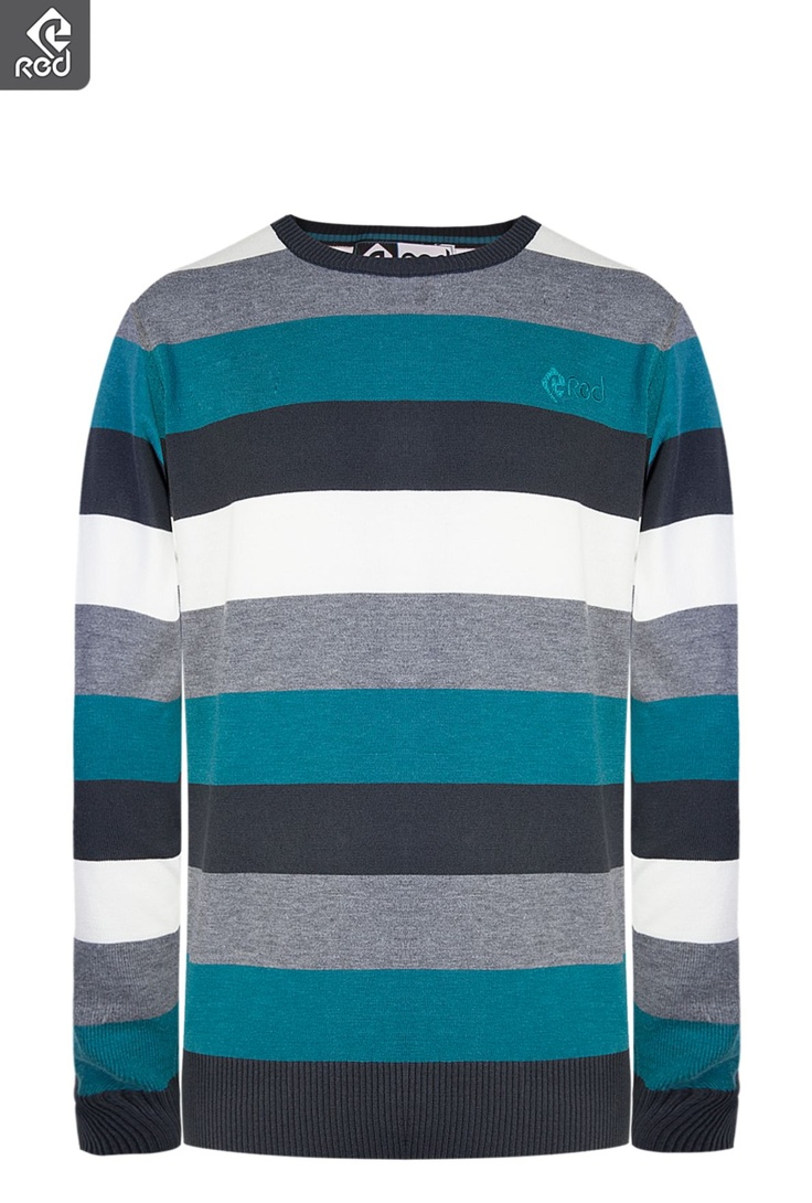 Mens Stripe Knitted Pullover | Winter Coasting