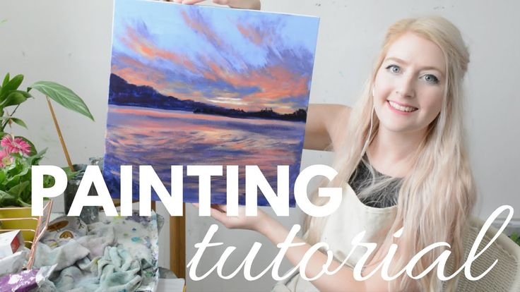 Painting Tutorial Acrylic Seascape Techniques Katie Jobling Art