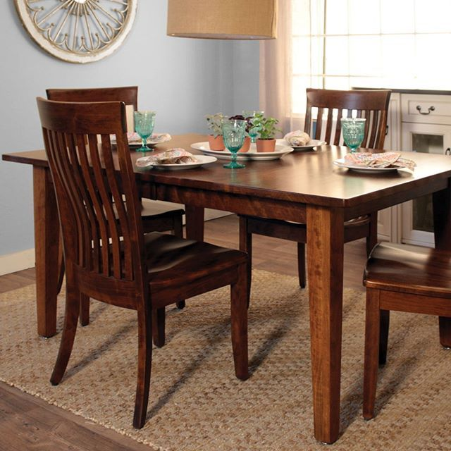 A Solid Wood American Made Kloter Farms Dining Set For Under