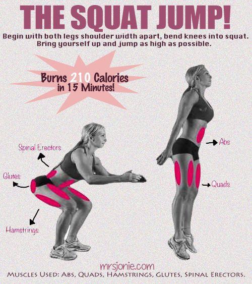 Squat jump - Do it!