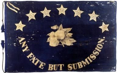 St. Augustine in the Civil War - St. Augustine Blues Flag
