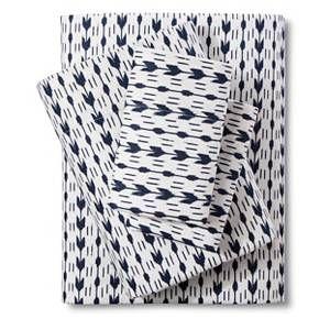 http://www.2uidea.com/category/Queen-Sheet-Set/ Threshold Flannel Sheet Set Queen size  Arrow print