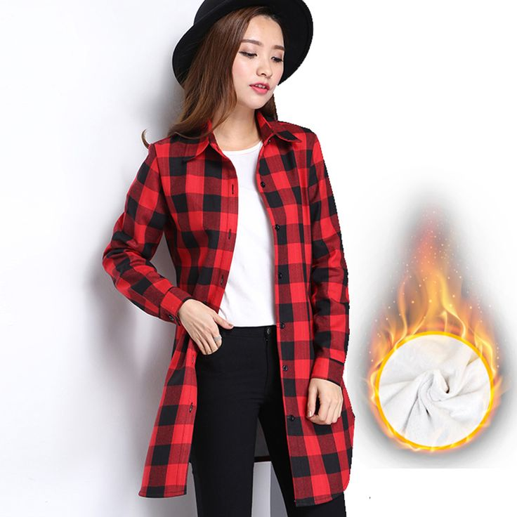 >> Click to Buy << 2016 Fashion Women Plaid Shirt Flannel Shirt Long Sleeve Women Blouses Shirt Women Plus Size 3XL Cotton Blusas Tops Blouse #Affiliate