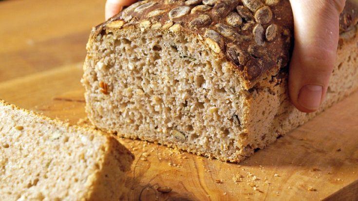Bylinkový kváskový chléb