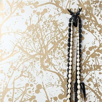Die 31 besten Bilder zu Opulent retreat auf Pinterest Goldene - moderne wandgestaltung wohnzimmer lila