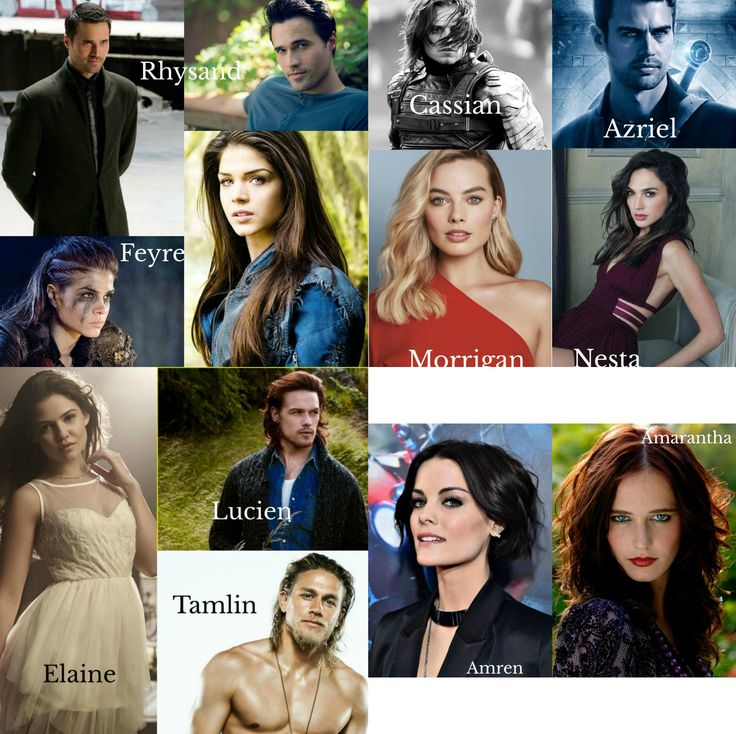 A Court Of Thorns And Roses Fan Cast A Court Of Mist And Fury