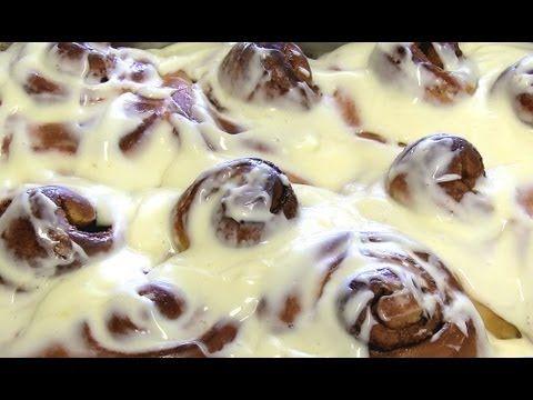 How to make Cinnamon Rolls like CINNABON! - YouTube