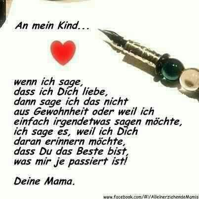 Für meinen Sonnenschein Luca,ich bin stolz auf dich.In liebe deine Mama.Du bist das beste was in meinem Leben passiert ist!