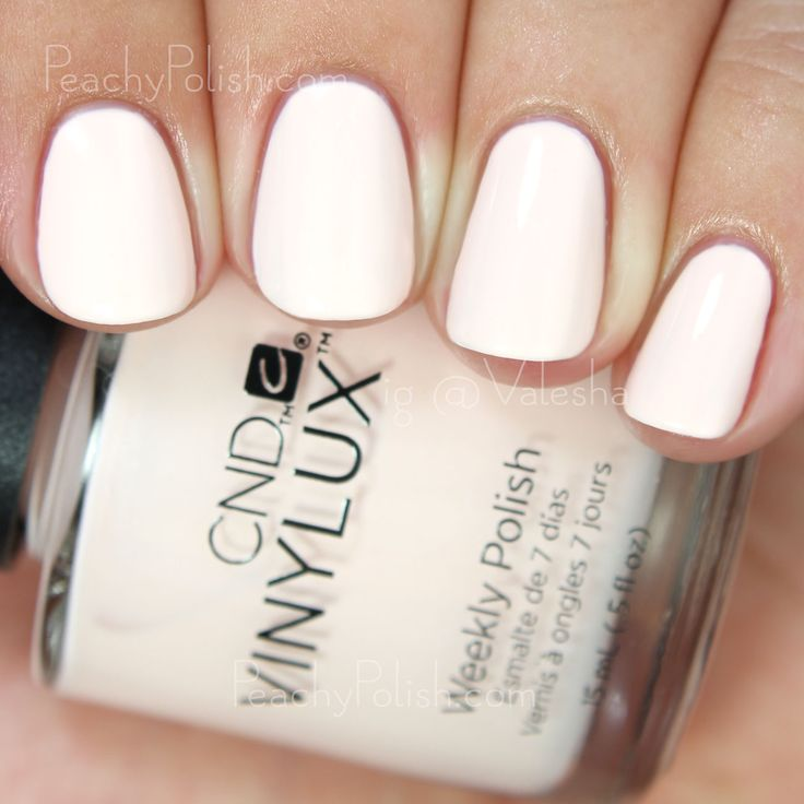 CND VINYLUX Naked Naiveté | Fall 2015 Contradictions Collection | Peachy Polish