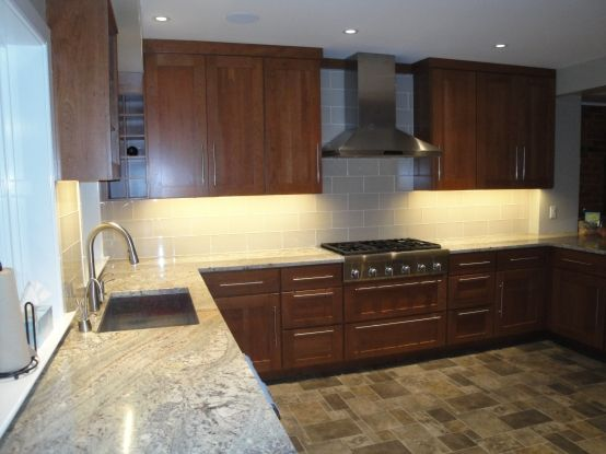 Backsplash Aci 6x12 Cadence Cotton Home Sweet Home
