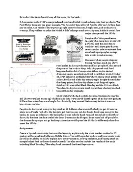 How Does the Stock Market Work? Basic Introduction & Great Depression