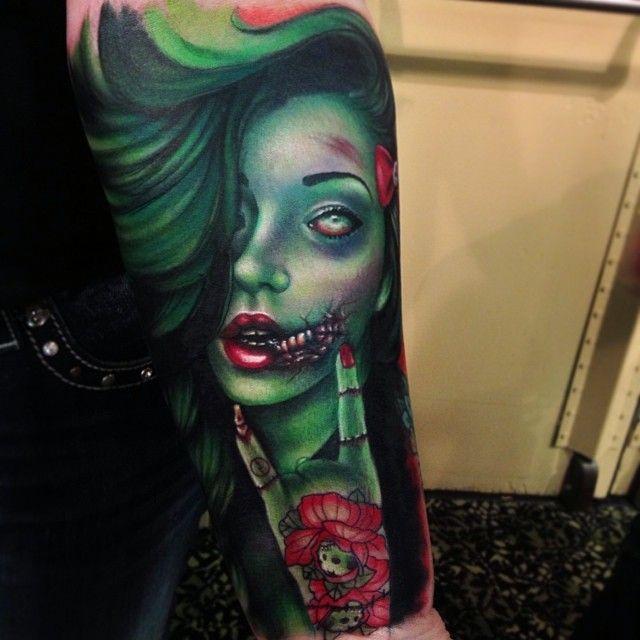Zombie Tattoo Ideas: 17 Best Ideas About Detroit Tattoo On Pinterest