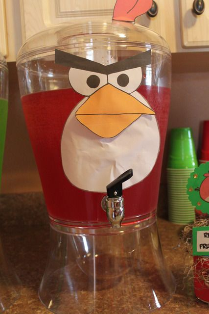 "Photo 2 of 92: Angry Birds / Birthday ""Brandon's 7th Angry Birdsday"" 