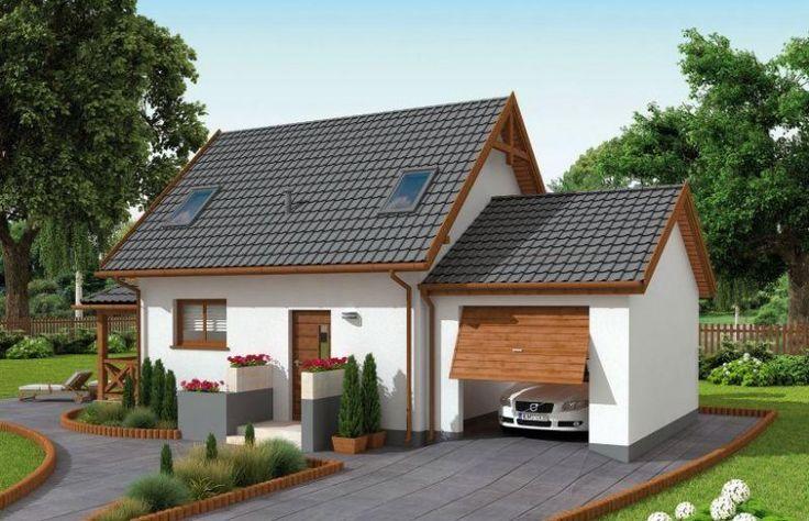 Orlean 5 to projekt domu letniskowego z werandą oraz garażem. Dom z garażem jest połączony w ten sposób, by towarzystwo garażu nie przeszkadzało domownikom (spaliny, oleje, hałas). Domu i garażu nie łączy wewnętrzne przejście.