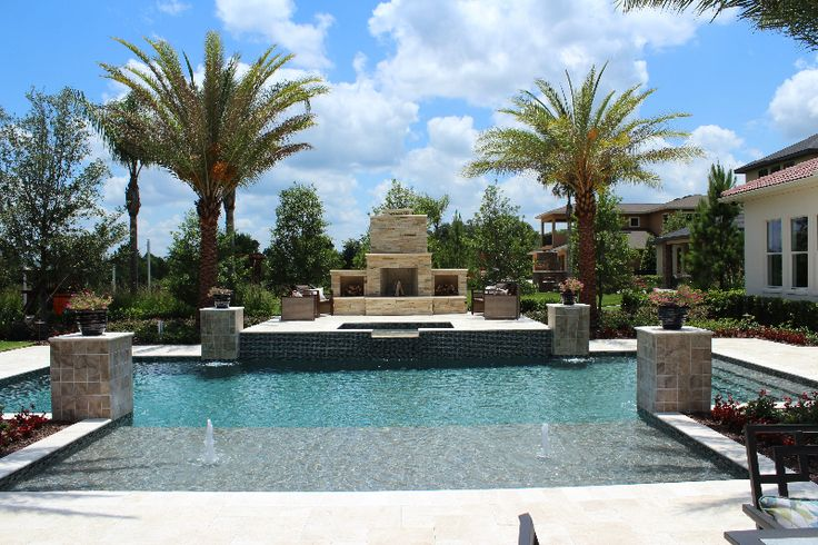 57 best dream home architecture images on pinterest for Pool design tampa