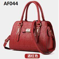 AF044 RED Tas wanita import chanel / handbag /tas bahu/tas selempang