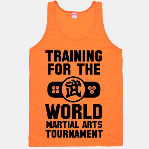 Training for the World Martial Arts Tournament | HUMAN | T-Shirts, Tanks, Sweatshirts and Hoodies