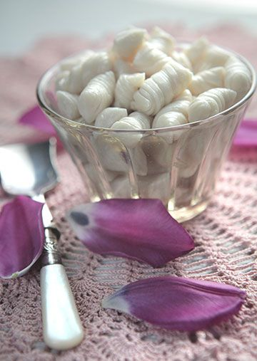 Old-Fashioned Cream Candy:  Prep Time: 30 Minutes Plus 30 Minutes Cooling  Cook Time: 20-25 Minutes  Makes: About 1 ½ lbs