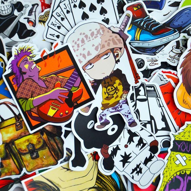 100 JDM Car Sticker