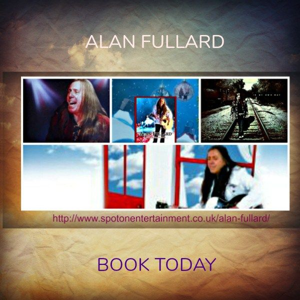 Alan Fullard is an international singer songwriter and here is another great album. In My Own Way. Alan's first album Out Of Nowhere featured the outstanding track America which won a Sky TV award for best new song. Book TODAY!