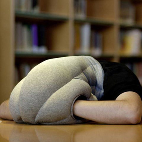 High Quality Comfortable Siesta Ostrich Pillow Light