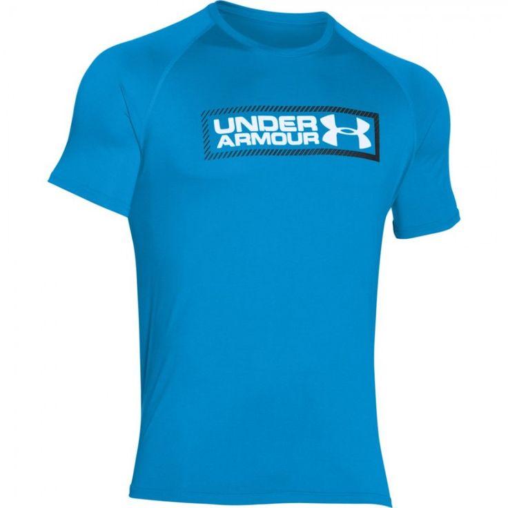 Pánské tričko Under Armour Double Up modré