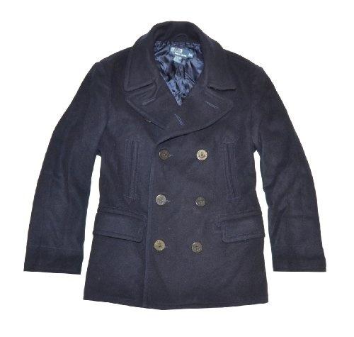 Polo by Ralph Lauren Men Wool Winter Pea Coat « Clothing Impulse
