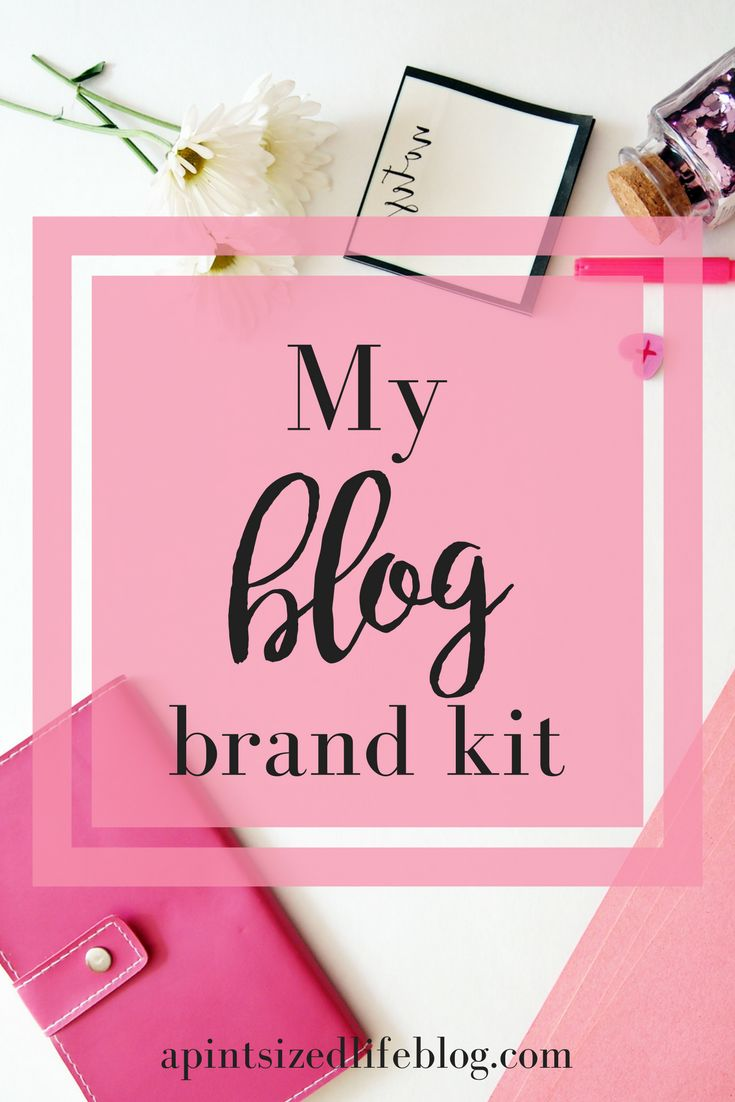 Talking about my blog's brand (that I finally settled on!) which extends to all my social media and why making a blog brand kit is beneficial.