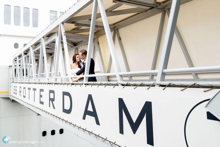Trouwfotografie Bruidsfotografie Stadhuis en SS Rotterdam