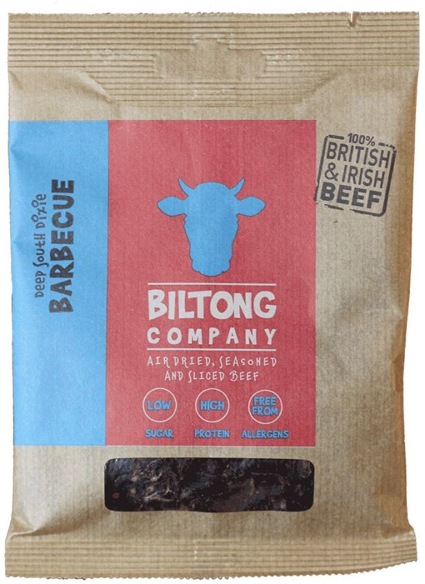 BBQ Biltong - 35g Bag - Made Using 100% British Grass-Fed Beef by The Chichester Biltong Company on Gourmly