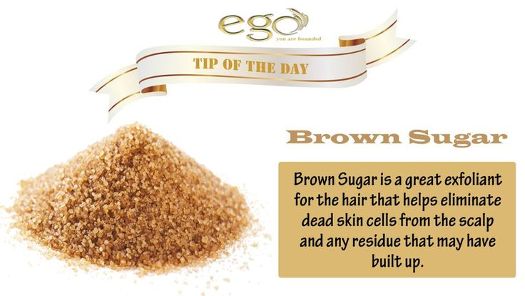 #Tip of the Day: The Brown #Sugar Mask will help aid dry, itchy or flaky scalps and remove any dead #skin cells.   What You'll Need:  - 2 Tablespoons of #BrownSugar - 1 Tablespoon of Extra Virgin Olive Oil  Directions:  1. Mix all ingredients into a bowl 2. Apply to your #hair from top to bottom 4. Let it sit for 15-20 mins 5. Rinse  If you like our #tip please like, comment & share with your #friends.