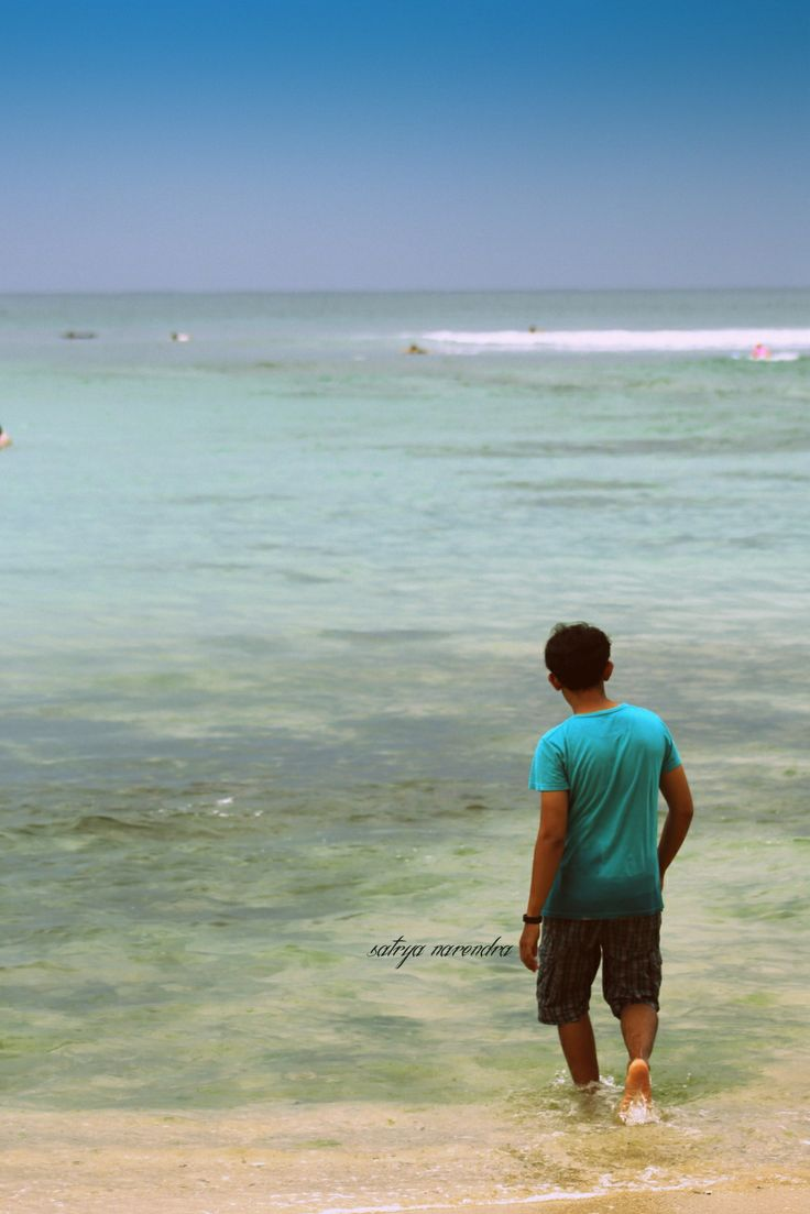 at Padang padang Beach