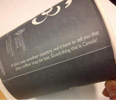 whoa canada someone needs to turn down that sass level