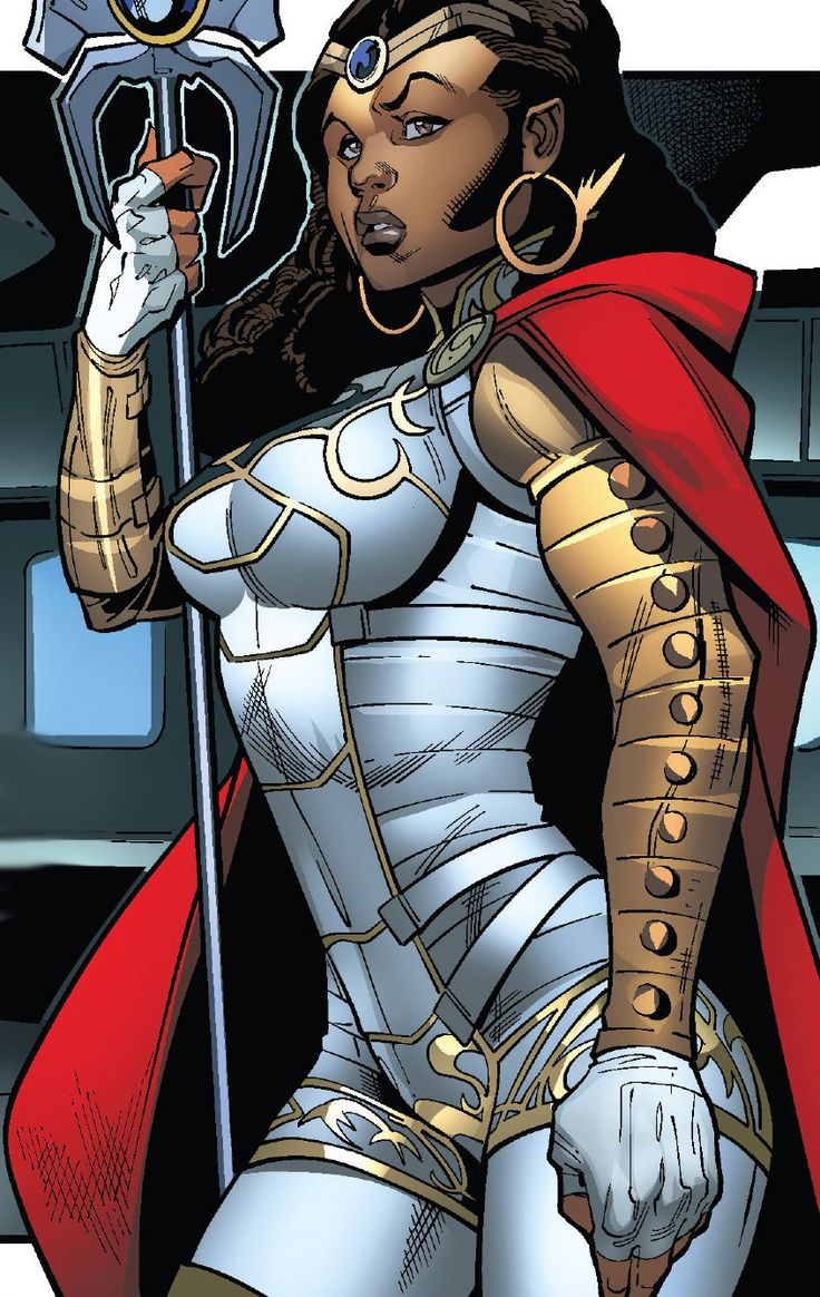 Victoria of Spartax... Peter Quill (Star Lord's) half ...
