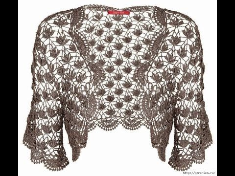 Crochet Shrug| free |Crochet patterns| 365 CLICK here to get many Patterns of Crochet Shawls…