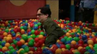 Sheldon cooper in ball pit - Full - *High Quality* - The big bang theory, via YouTube.