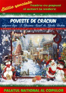 Duminica, 20 Decembrie 2015, ora 09:30, Palatul National al Copiilor, Sala Mica, Bucuresti