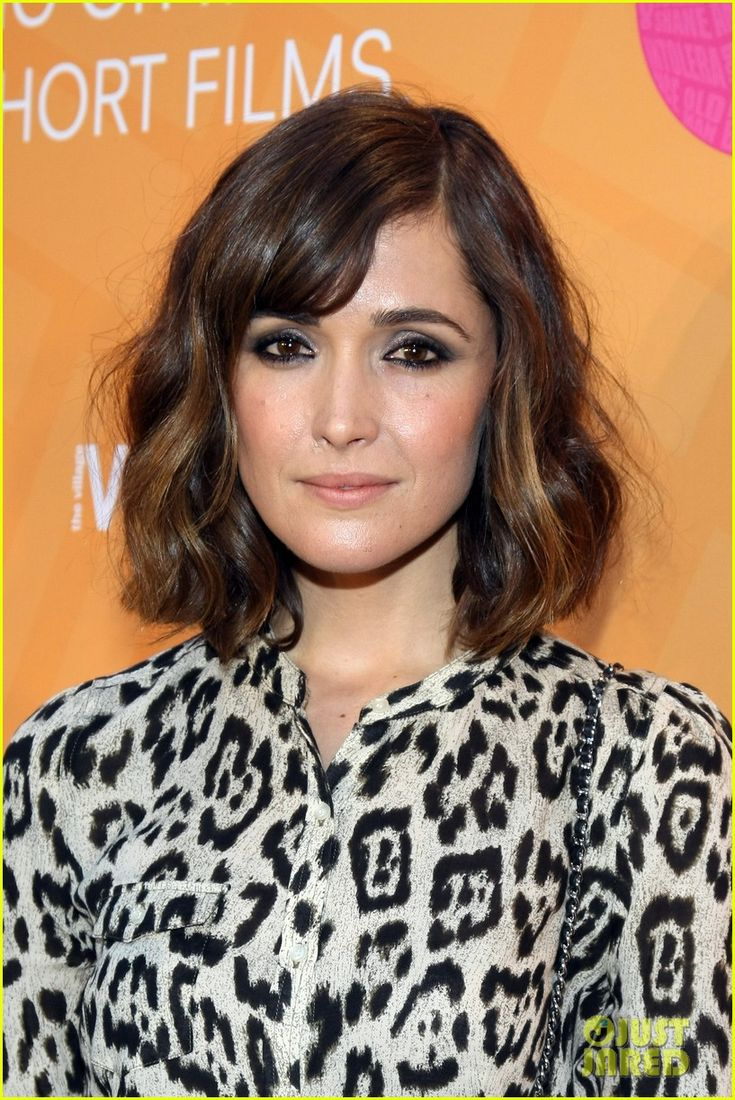 mid-length, side bangs, natural wave. (I need a new hairstyle, this may be the one!)