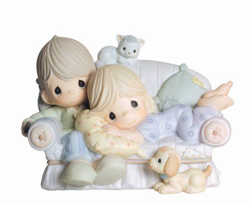 Because together is the very best place to be - precious moments figurine