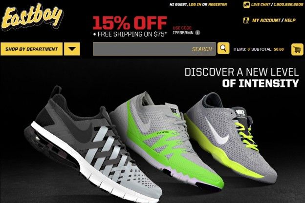 It's always important to keep in mind that using promos, coupons and cash back bonuses is very smart as long as you do not let incentives and the codes offered order everything you get -- Eastbay promo code 2015 --- http://eastbaypromocode.com/
