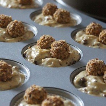 Giotto-Cupcakes | ichliebebacken.de (Bake Cheesecake Cups)