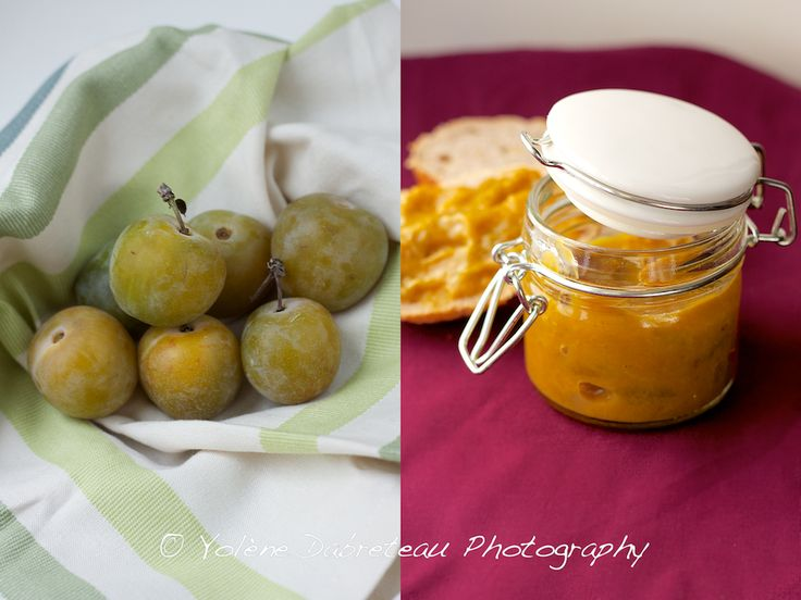 ... Last Of The Summer Fruit: A Very Easy Greengage and Vanilla Jam Recipe