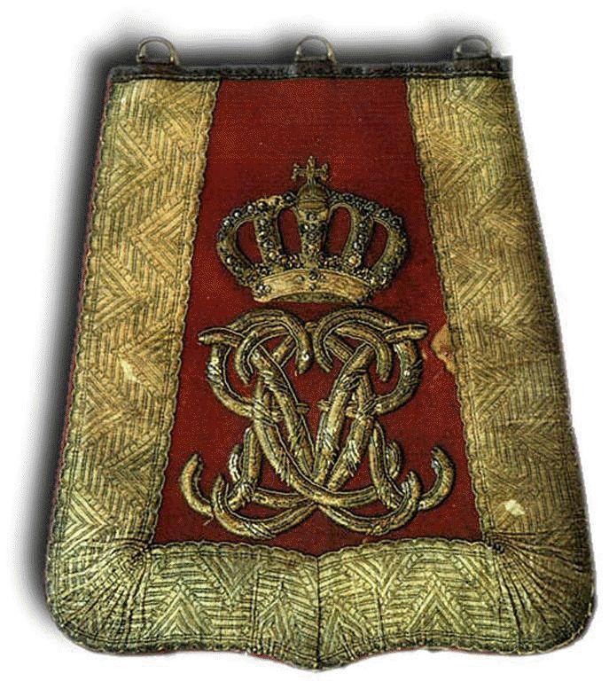 7th Hussars Sabretache c1830